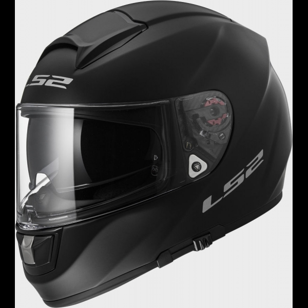 Casque FF 397 Solid Matt Black LS2