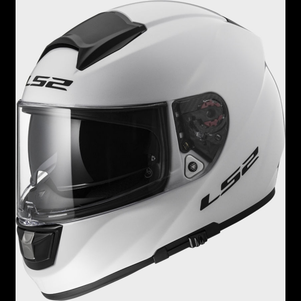 Casque FF 397 Solid White LS2