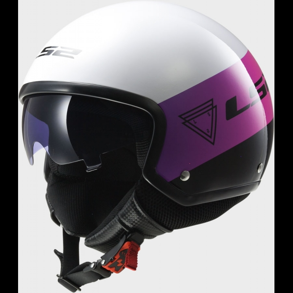 Casque OF 561 Wave Beat Pink LS2