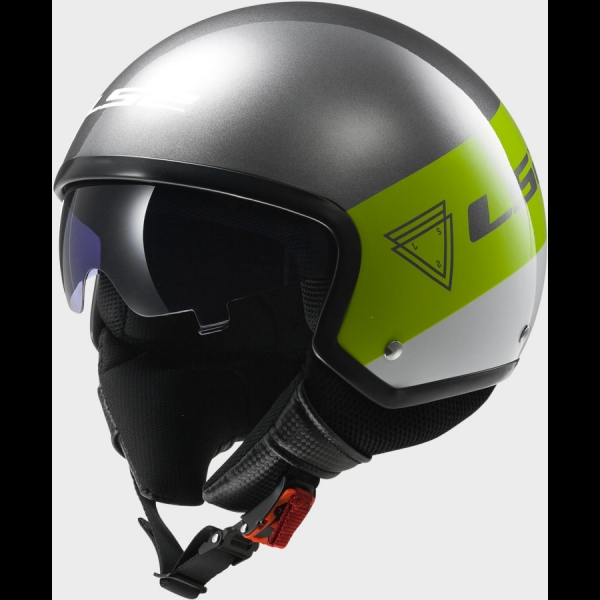 Casque OF 561 Wave Beat Green LS2