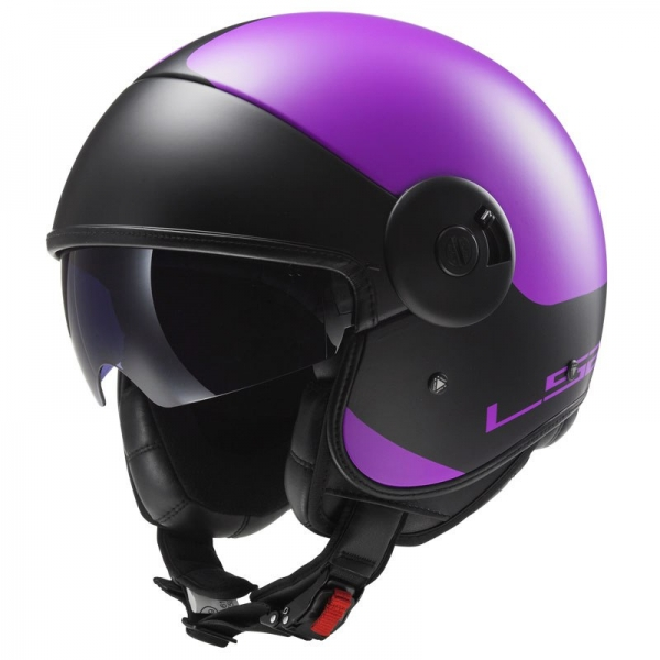 Casque OF 597 Cabrio Via Matt Purple LS2