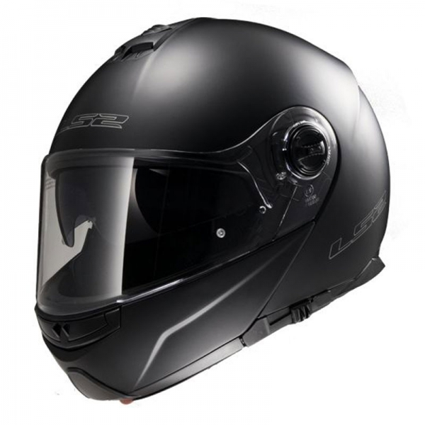 Casque FF 325 Strobe Solid Matt Black LS2