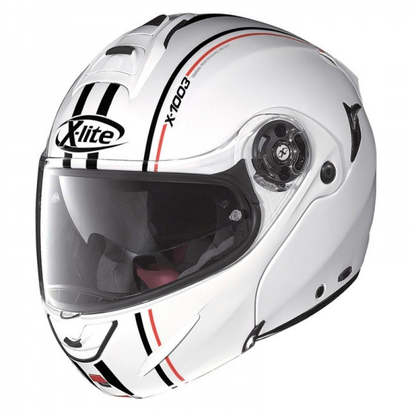 Casque Modulable Millstatt Ncom 15 Metal White XLITE