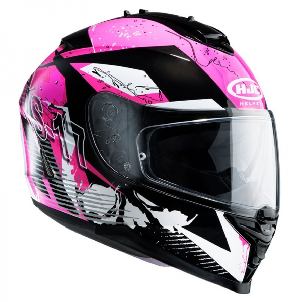 Casque Is17 Pink Rocket Mc8 Hjc