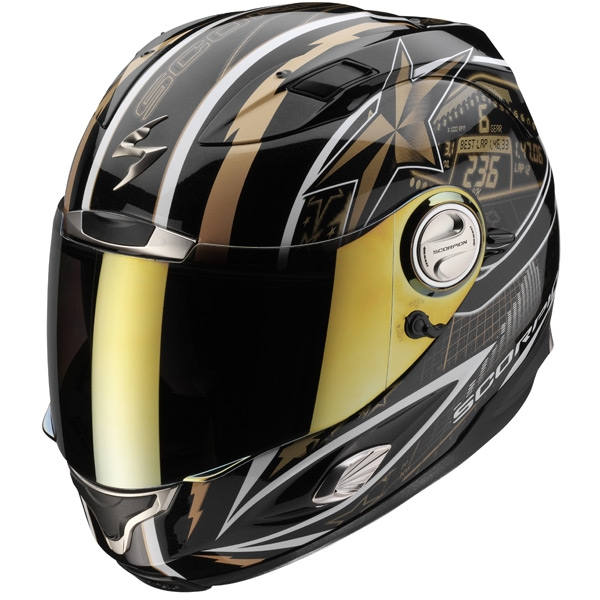 casque scorpion exo 1000 speedster noir or scorpion moto magasin scorpion. Black Bedroom Furniture Sets. Home Design Ideas