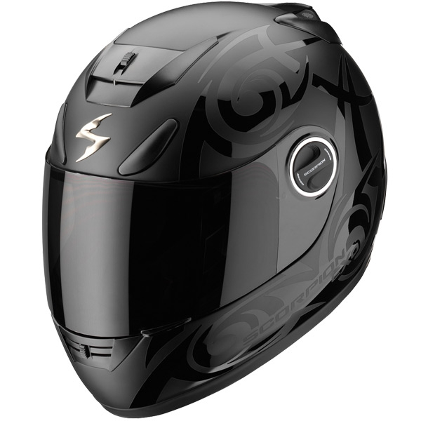 casque scorpion exo 750 tribal noir scorpion moto magasin scorpion. Black Bedroom Furniture Sets. Home Design Ideas