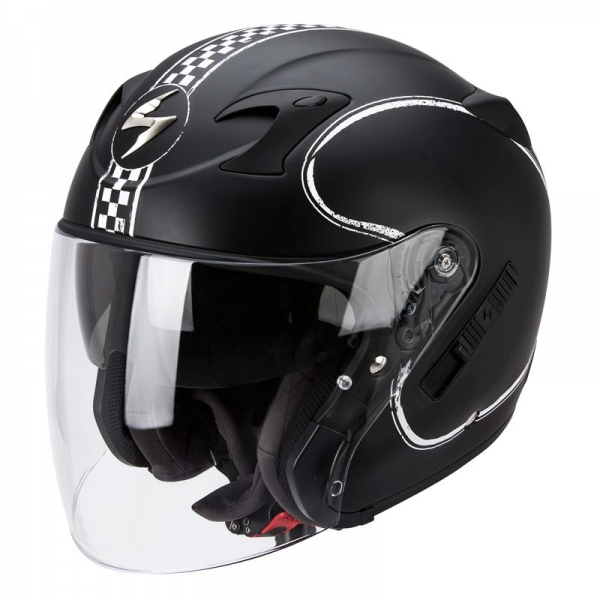 Casque Scorpion EXO 220 Bixby Blanc Matt Scorpion