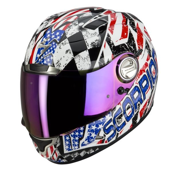 casque scorpion exo 1000 air stars stripes usa scorpion moto magasin scorpion. Black Bedroom Furniture Sets. Home Design Ideas