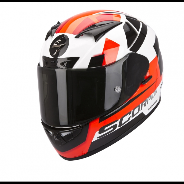 Casque Scorpion EXO 710 Square Rouge Scorpion