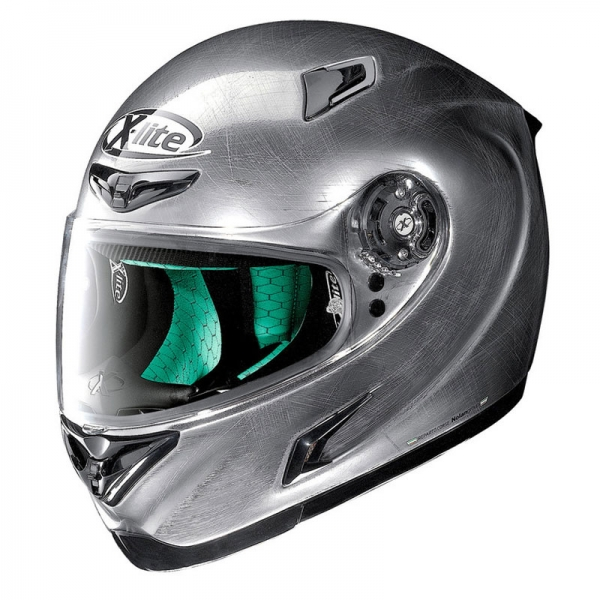 Casque X802RR Start Scratched Chrome 103 XLITE