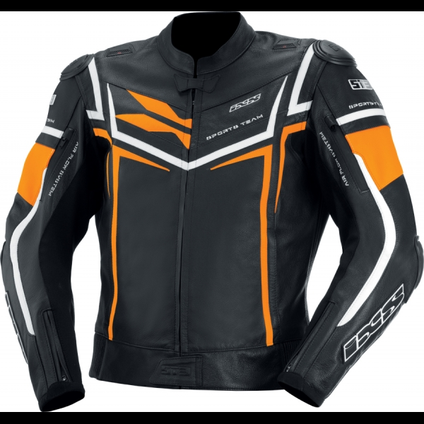 Blouson Sting Noir Orange Blanc IXS