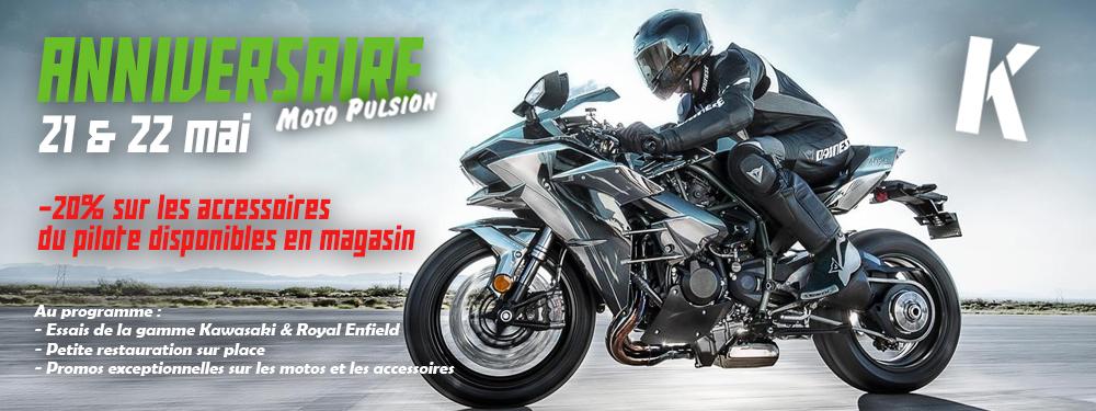 21 & 22 mai 2016, anniversaire Moto Pulsion à Lutterbach