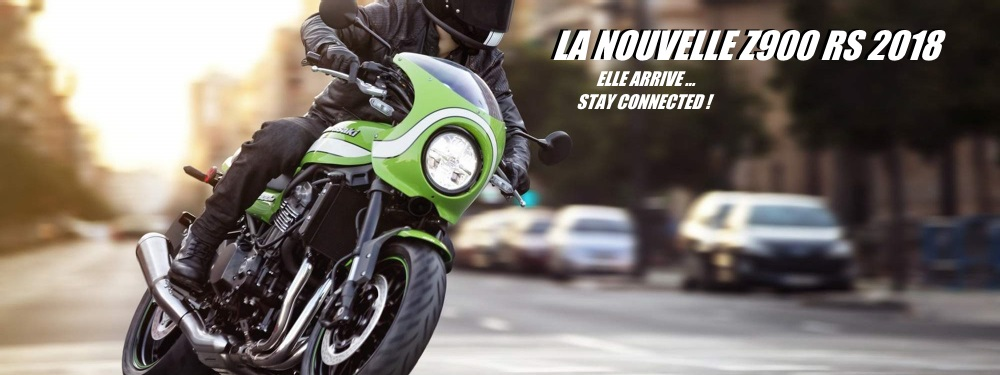 La nouvelle Kawasaki Z900RS se dévoile à milan