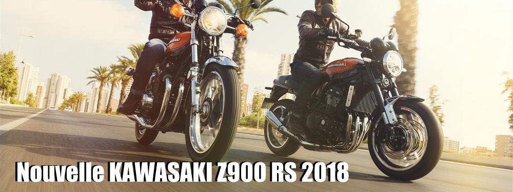 Kawasaki dévoile son modèle moderne et classique