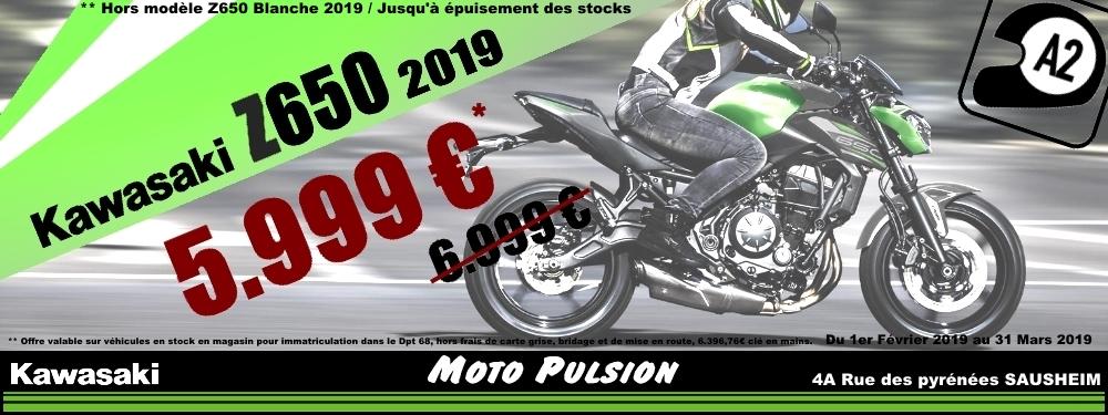 Promotions Z650 2019