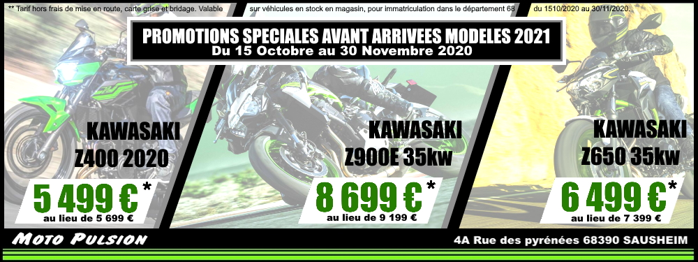 2020 / PROMOTIONS SPECIALES