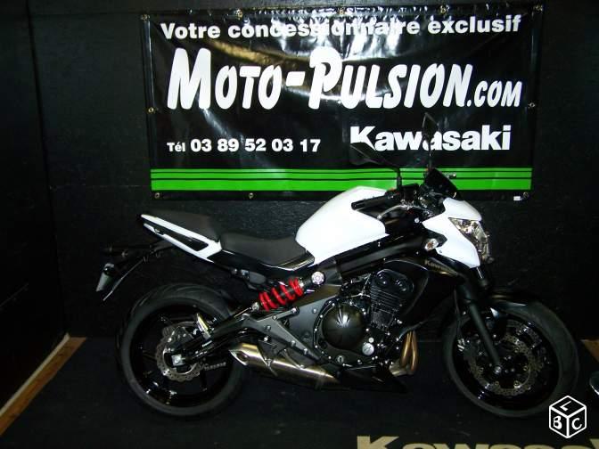 Kawasaki Kawasaki Er6n Roadster Occasion Moto Pulsion