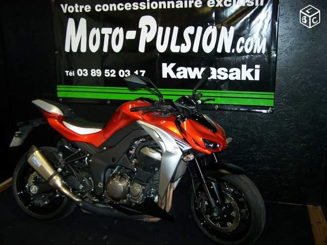 kawasaki z1000 roadster occasion moto pulsion concessionnaire moto exclusif kawasaki en alsace. Black Bedroom Furniture Sets. Home Design Ideas