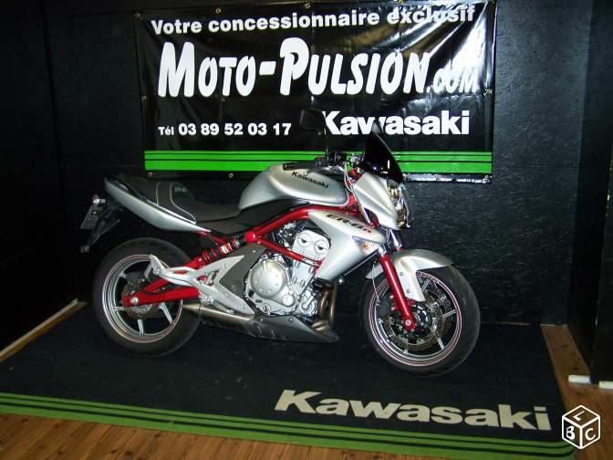 Kawasaki Er6 N Roadster Occasion Moto Pulsion Concessionnaire