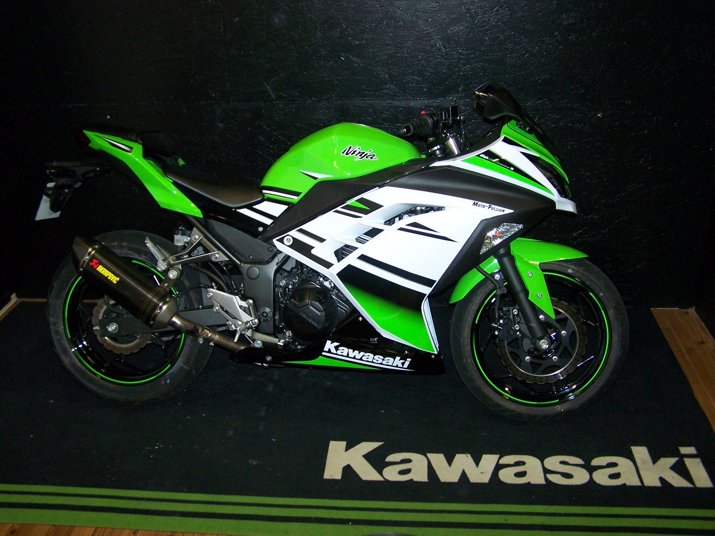 Kawasaki Ninja 300 30th Anniversary Sportive Occasion Moto