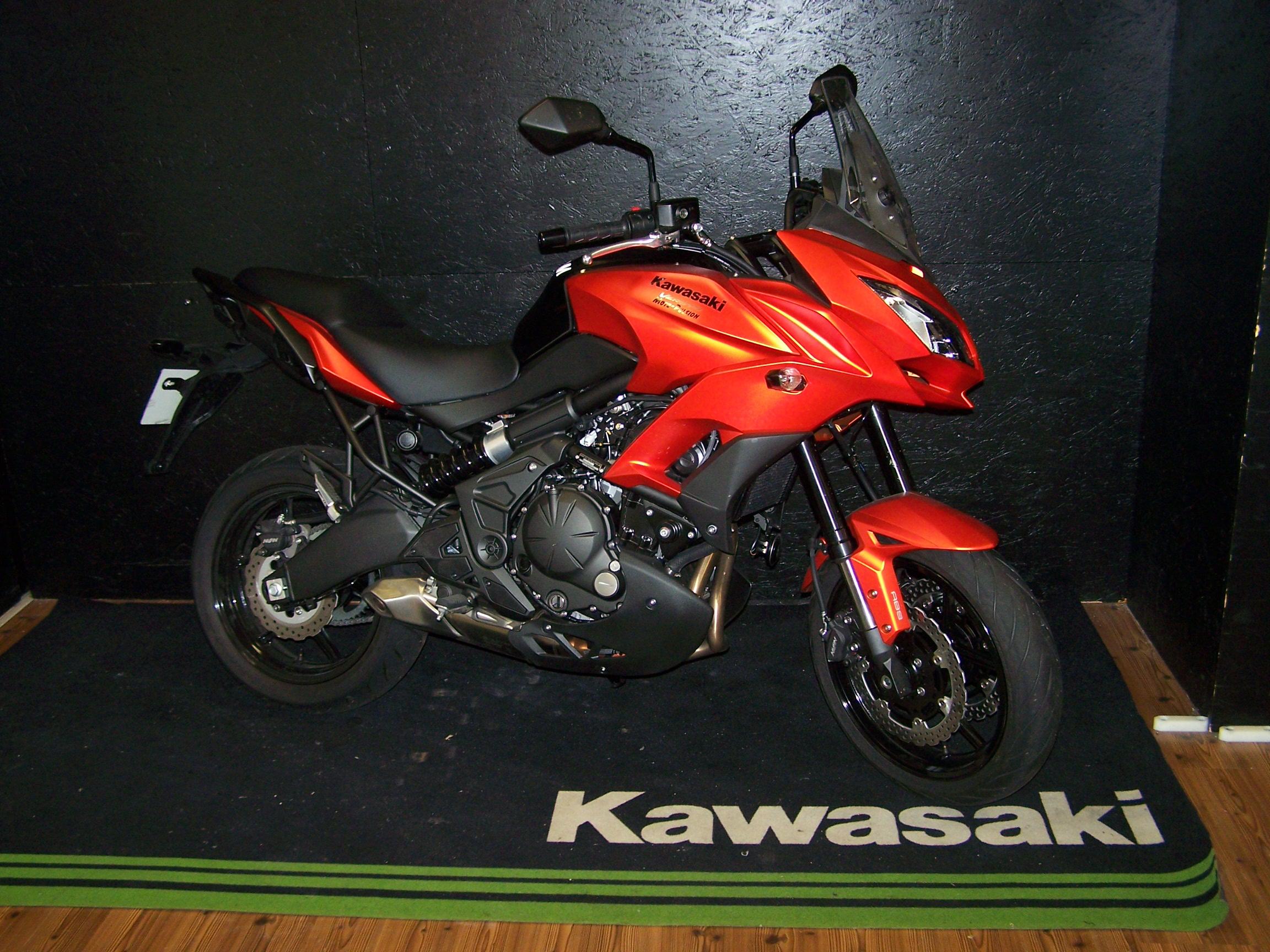 kawasaki versys 650 abs trail occasion moto pulsion concessionnaire moto exclusif kawasaki. Black Bedroom Furniture Sets. Home Design Ideas