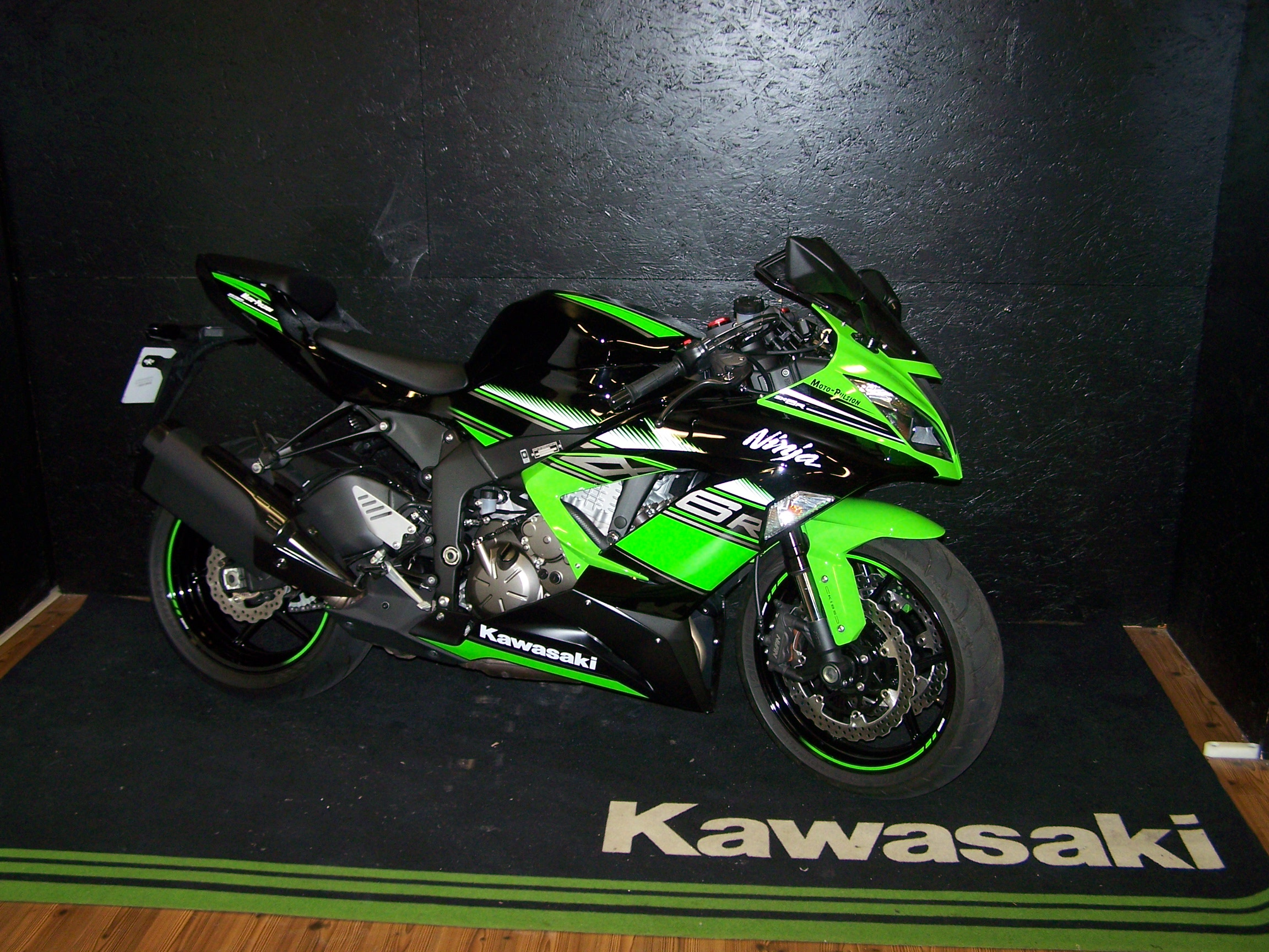 kawasaki ninja zx6 r 636 krt sportive occasion moto pulsion concessionnaire moto exclusif. Black Bedroom Furniture Sets. Home Design Ideas